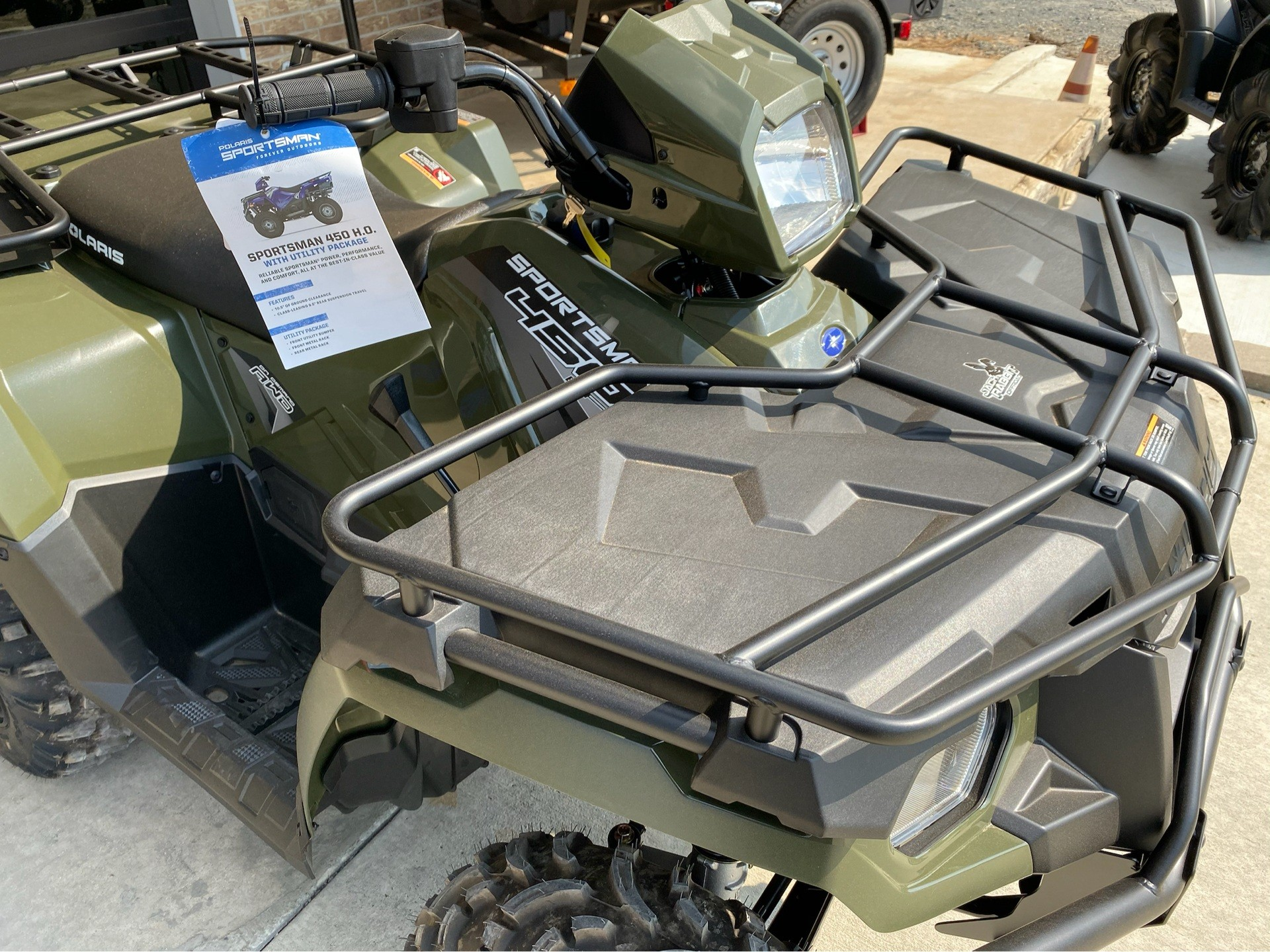 2020 Polaris Sportsman 450 H.O. Utility Package in Marshall, Texas - Photo 6