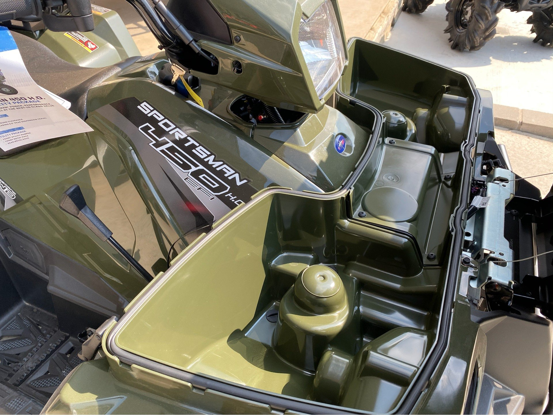 2020 Polaris Sportsman 450 H.O. Utility Package in Marshall, Texas - Photo 7