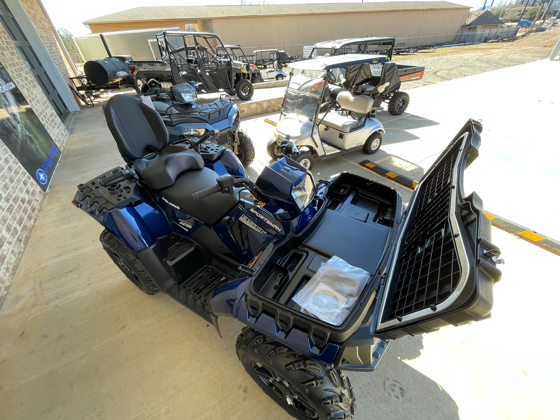2021 Polaris Sportsman Touring 850 in Marshall, Texas - Photo 9