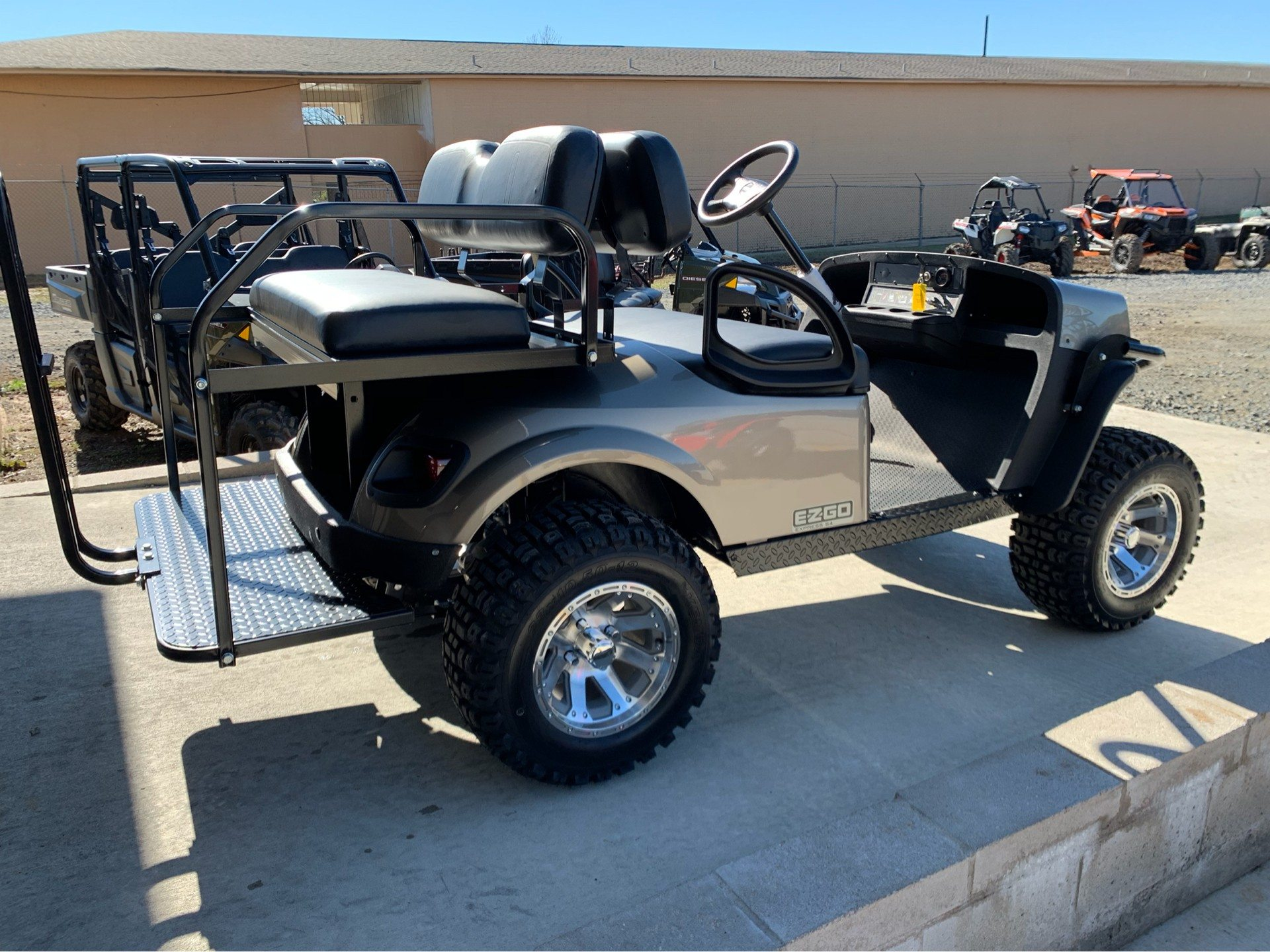 2019 E-Z-Go Express S4 Gas in Marshall, Texas