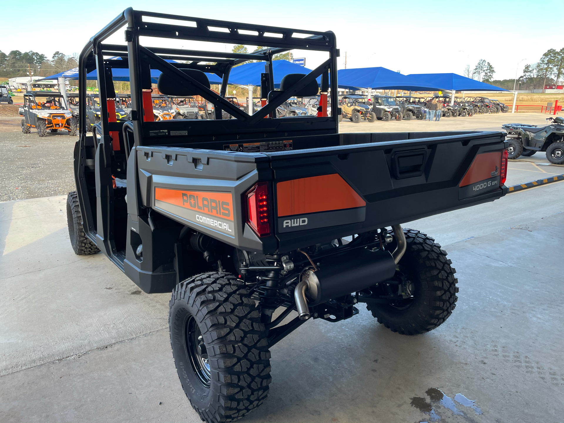 2020 Polaris PRO XD 4000G AWD in Marshall, Texas - Photo 5