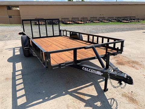 "2020 Falcon TrailerWorks 77"" X 14' Single Axle ATV Side Gate in Marshall, Texas - Photo 4"