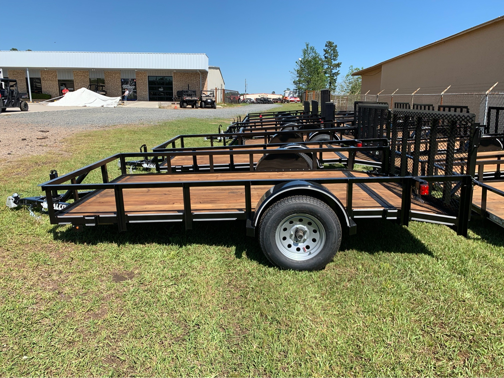 "2019 Falcon TrailerWorks 77"" X 12' Single Axle in Marshall, Texas - Photo 3"