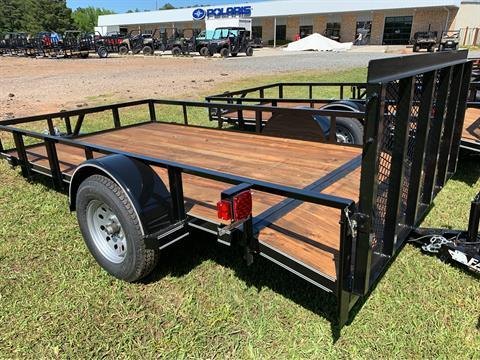 "2019 Falcon TrailerWorks 77"" X 12' Single Axle in Marshall, Texas - Photo 4"