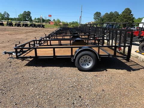 "2019 Falcon TrailerWorks 77"" X 12' Single Axle in Marshall, Texas - Photo 2"