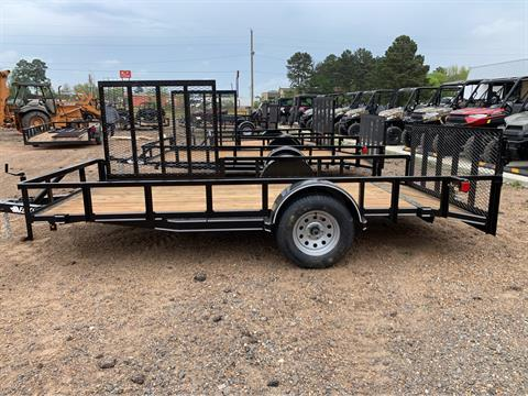 "2019 Falcon TrailerWorks 77"" X 14' Single Axle ATV Side Gate in Marshall, Texas - Photo 2"