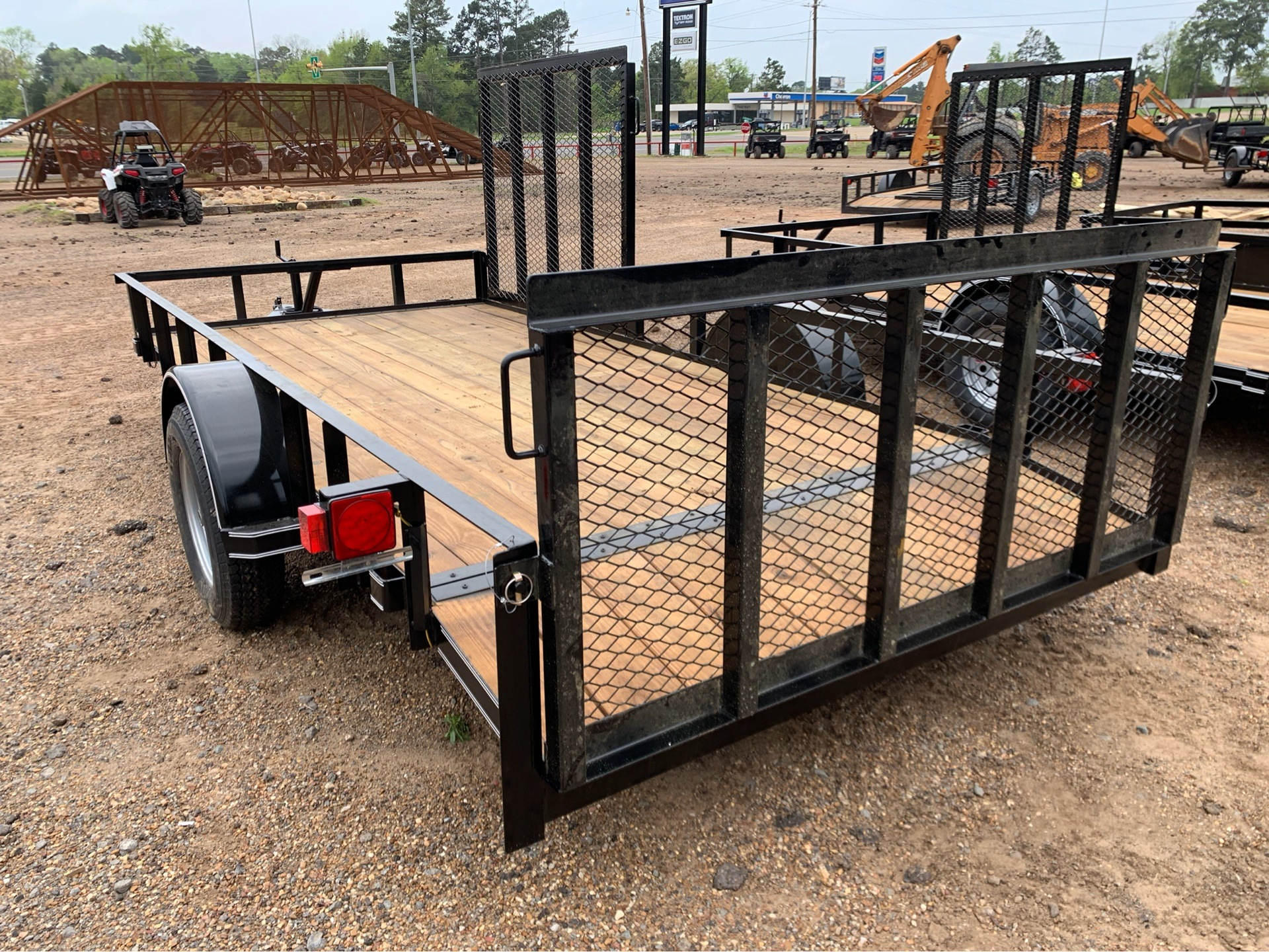 "2019 Falcon TrailerWorks 77"" X 14' Single Axle ATV Side Gate in Marshall, Texas - Photo 3"