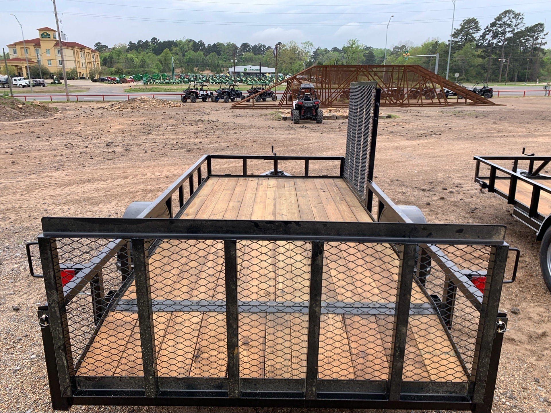 "2019 Falcon TrailerWorks 77"" X 14' Single Axle ATV Side Gate in Marshall, Texas - Photo 4"