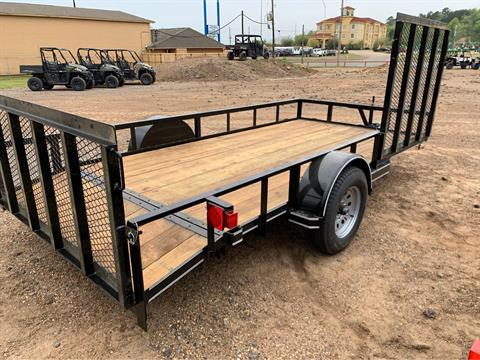 "2019 Falcon TrailerWorks 77"" X 14' Single Axle ATV Side Gate in Marshall, Texas - Photo 5"