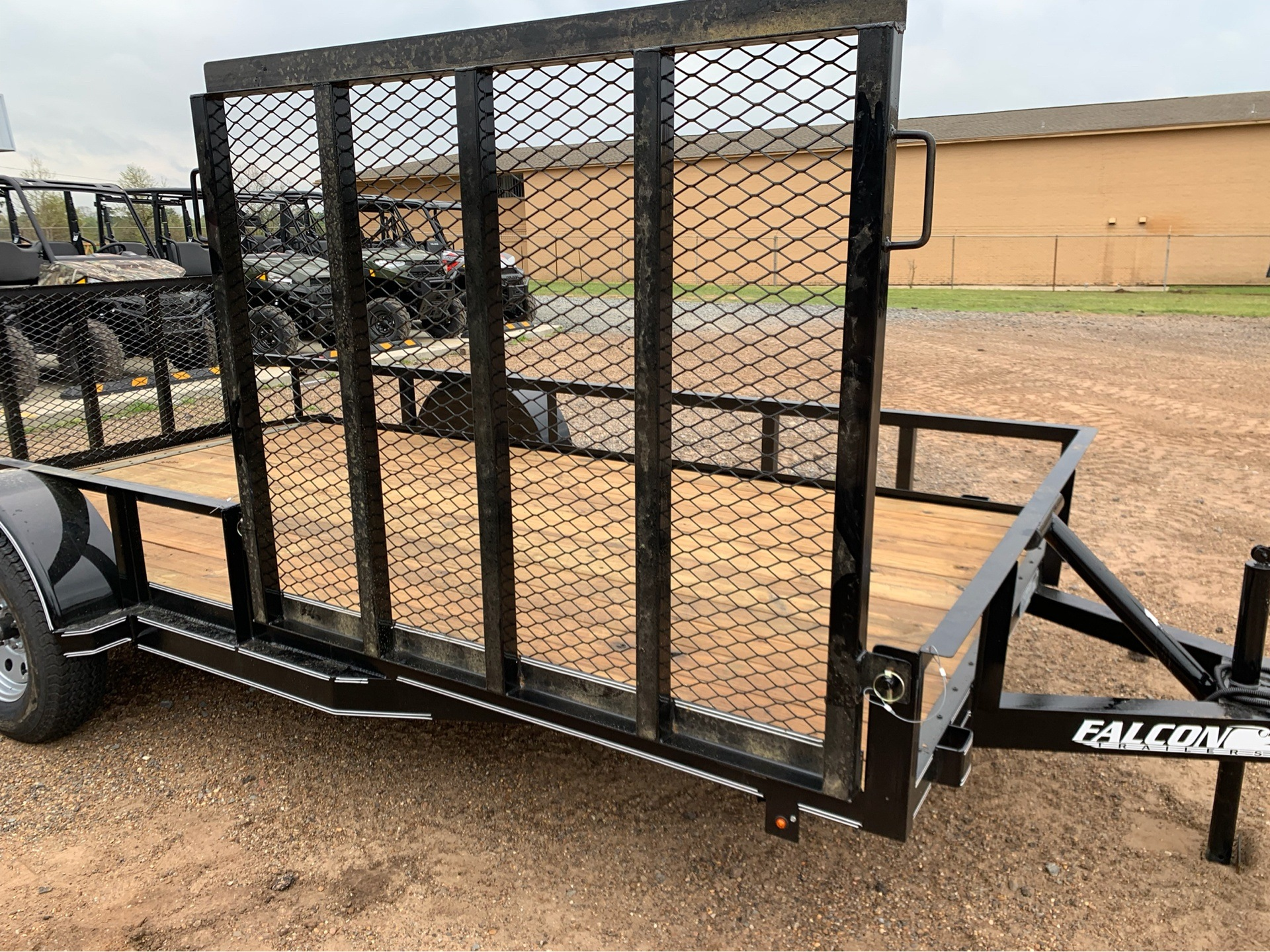 "2019 Falcon TrailerWorks 77"" X 14' Single Axle ATV Side Gate in Marshall, Texas - Photo 6"