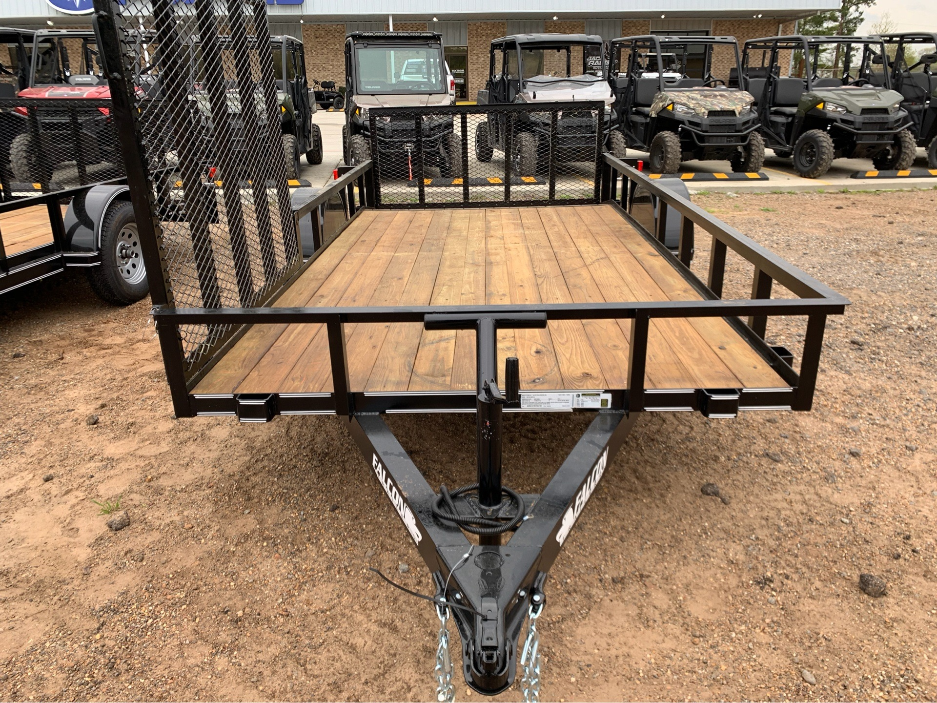 "2019 Falcon TrailerWorks 77"" X 14' Single Axle ATV Side Gate in Marshall, Texas - Photo 7"