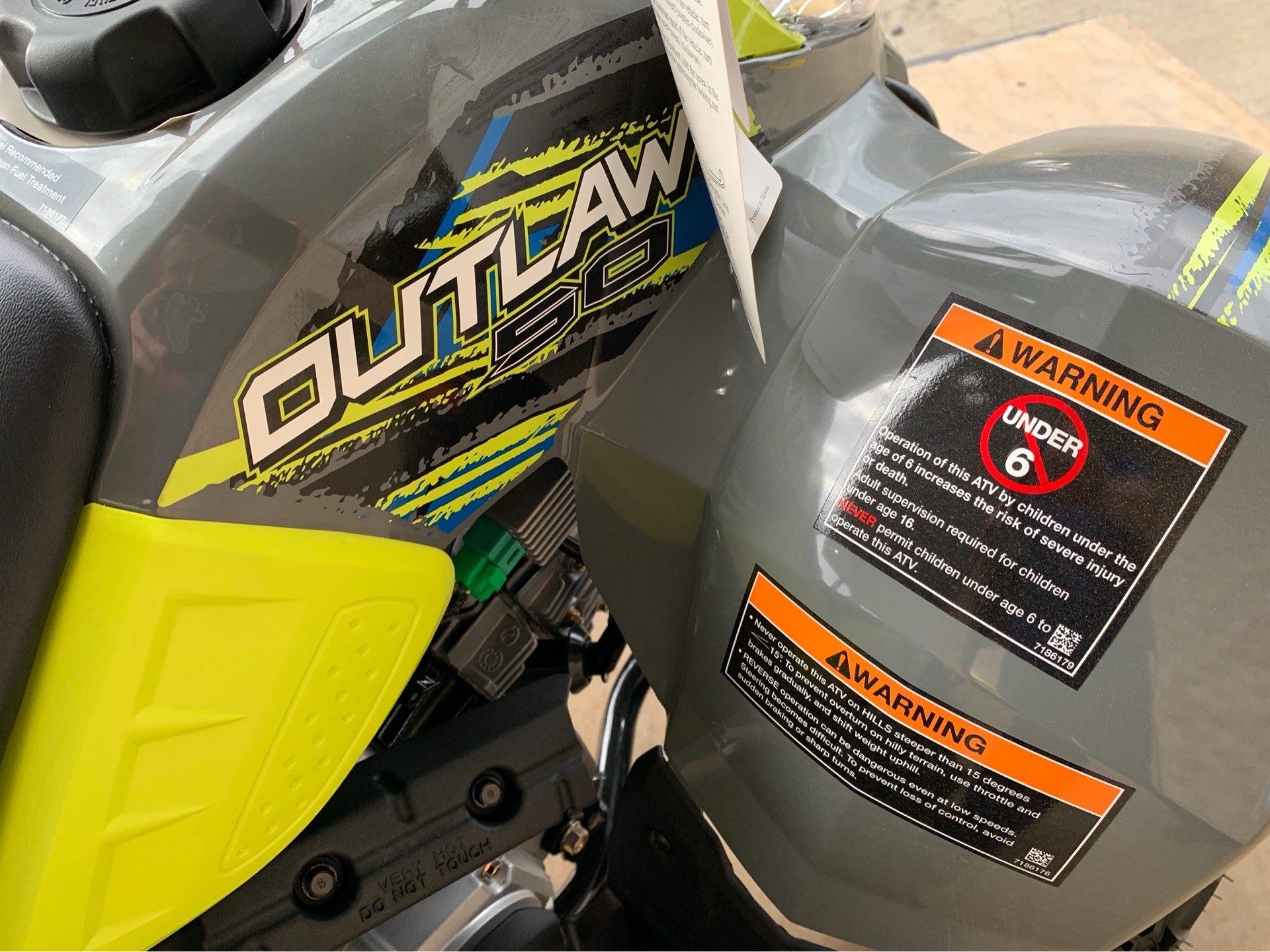 2019 Polaris Outlaw 50 4