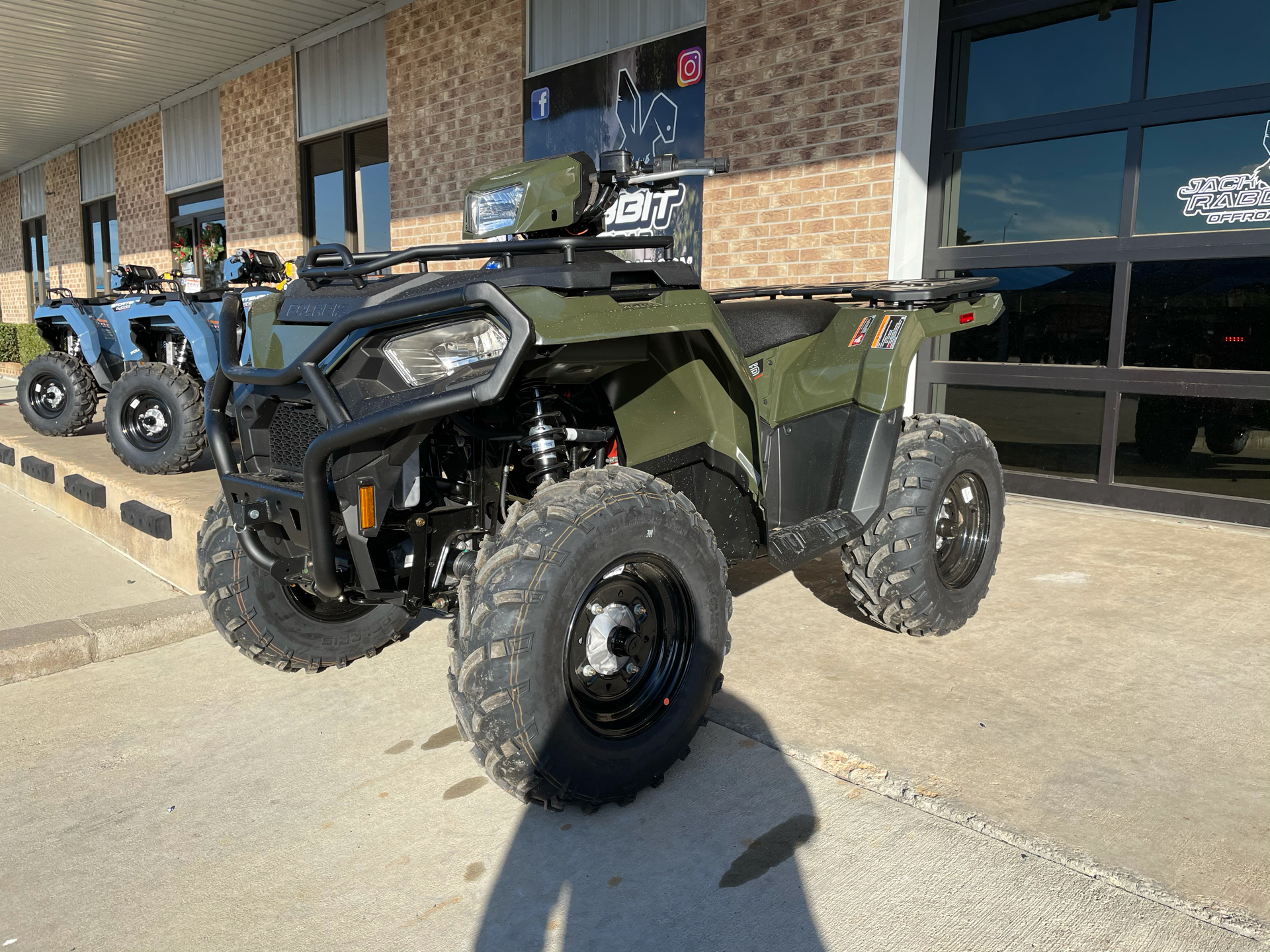 2021 Polaris Sportsman 450 H.O. Utility Package in Marshall, Texas - Photo 2