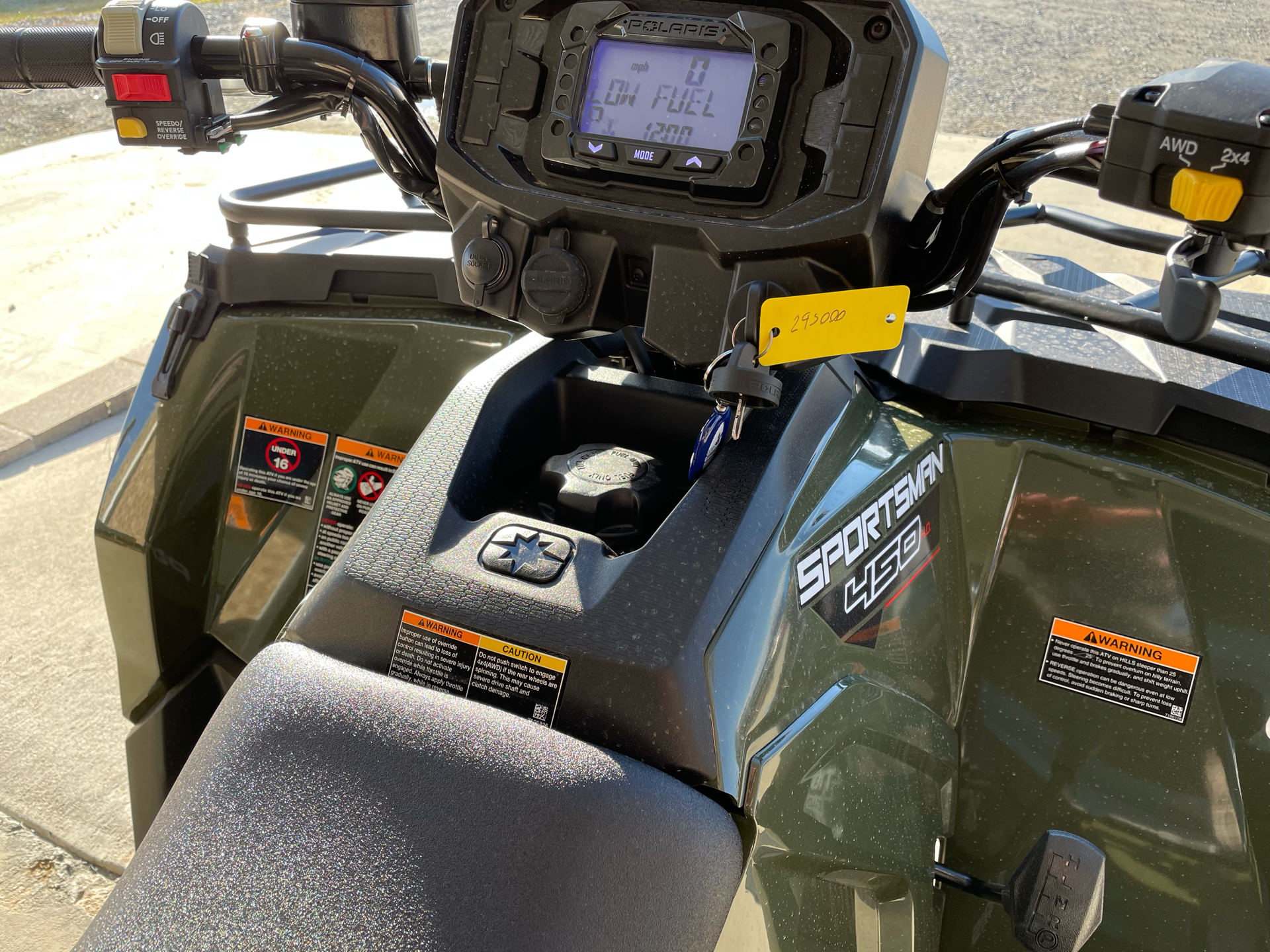 2021 Polaris Sportsman 450 H.O. Utility Package in Marshall, Texas - Photo 6