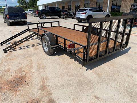"2021 Falcon TrailerWorks 77"" X 14' Single Axle ATV Side Gate in Marshall, Texas - Photo 2"