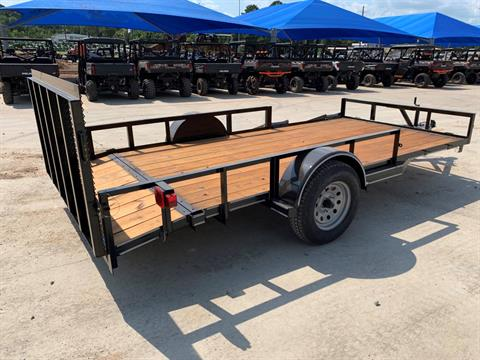 "2021 Falcon TrailerWorks 77"" X 14' Single Axle ATV Side Gate in Marshall, Texas - Photo 3"