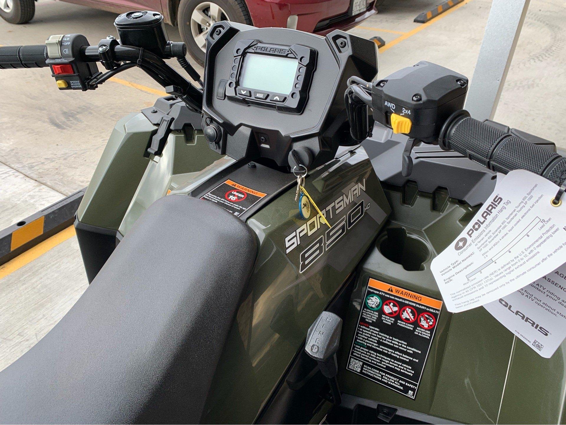 2019 Polaris Sportsman 850 in Marshall, Texas