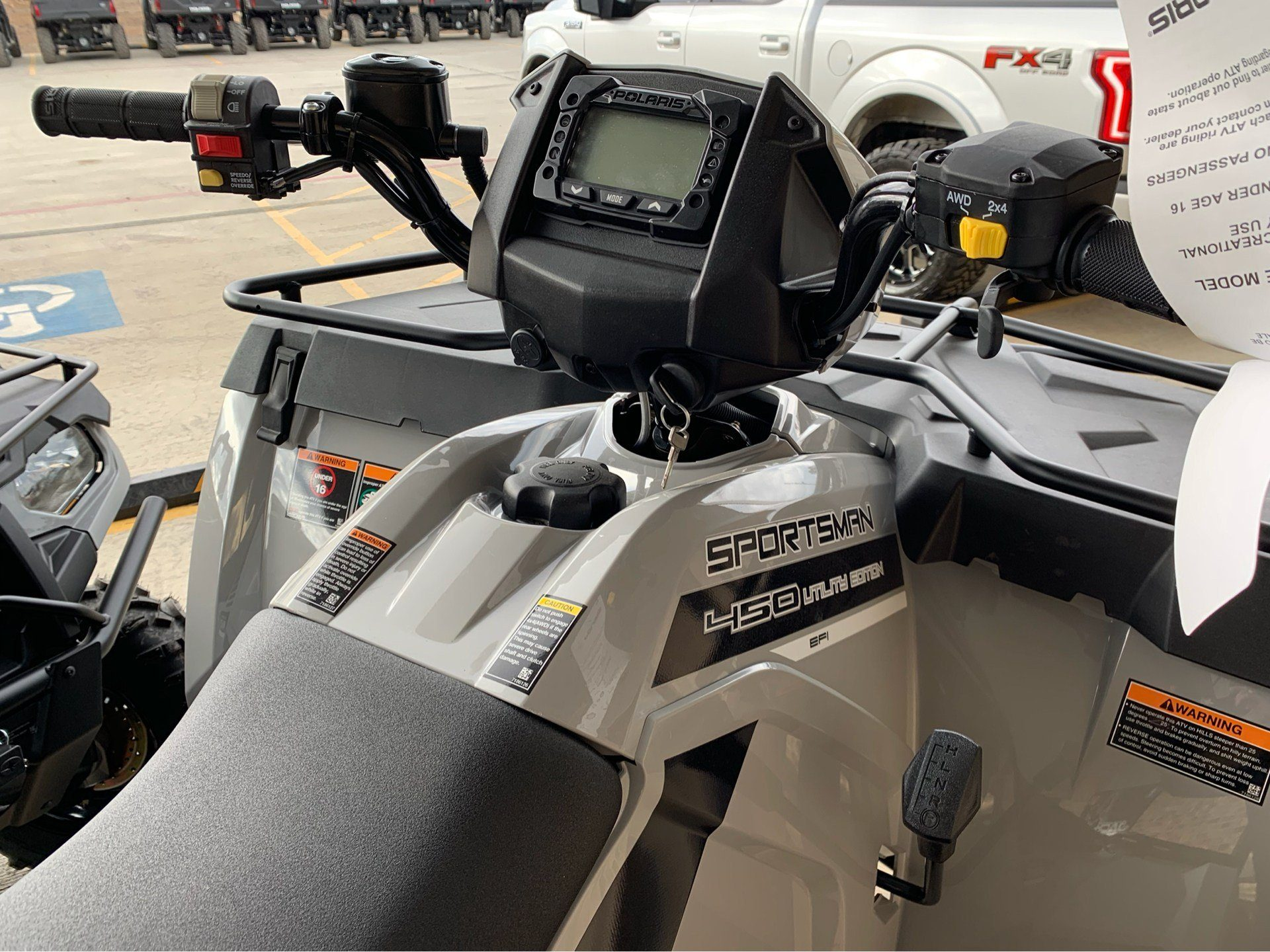 2018 Polaris Sportsman 450 H.O. Utility Edition in Marshall, Texas