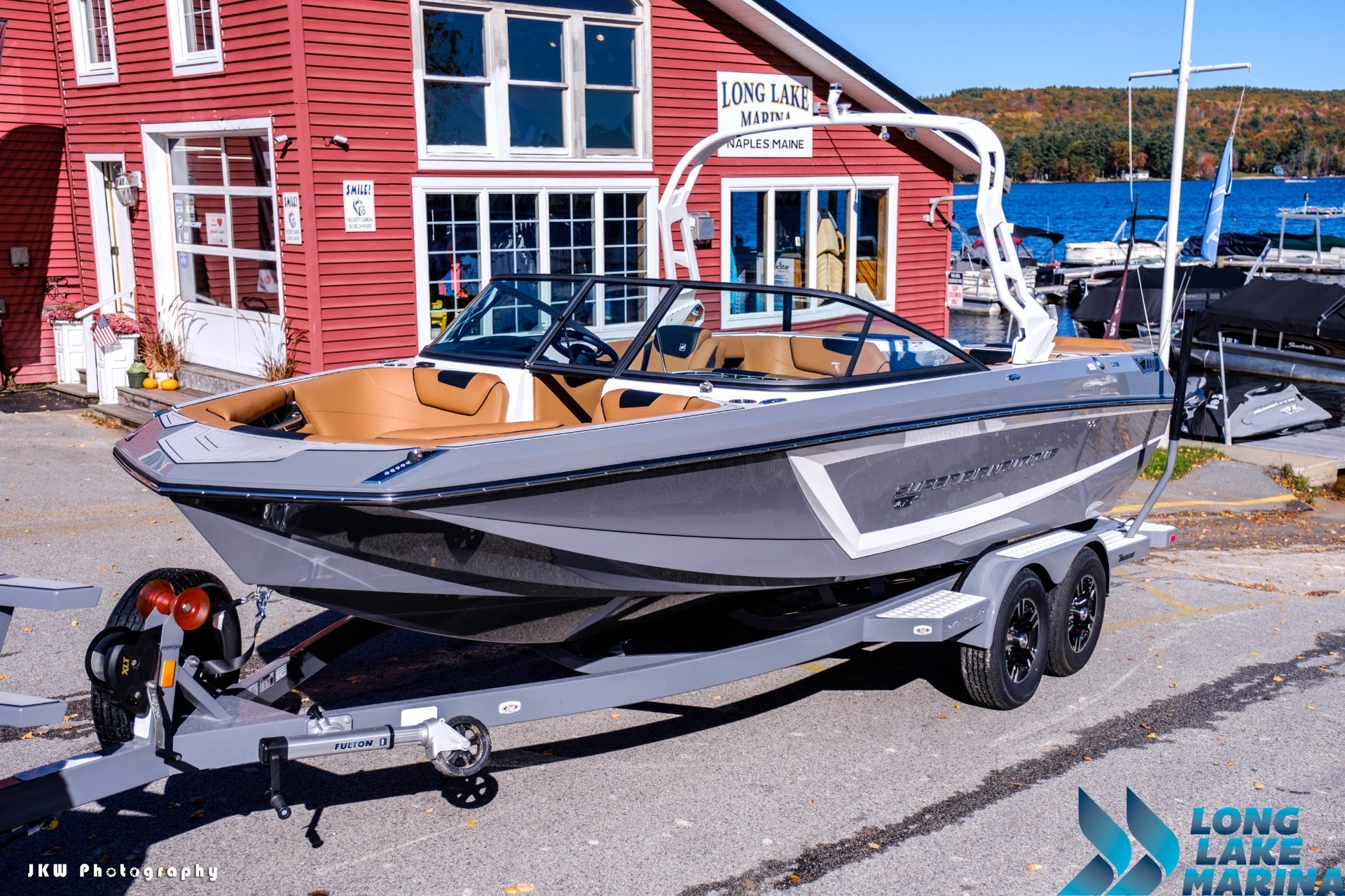 2018 Nautique Super Air Nautique GS22 in Naples, Maine