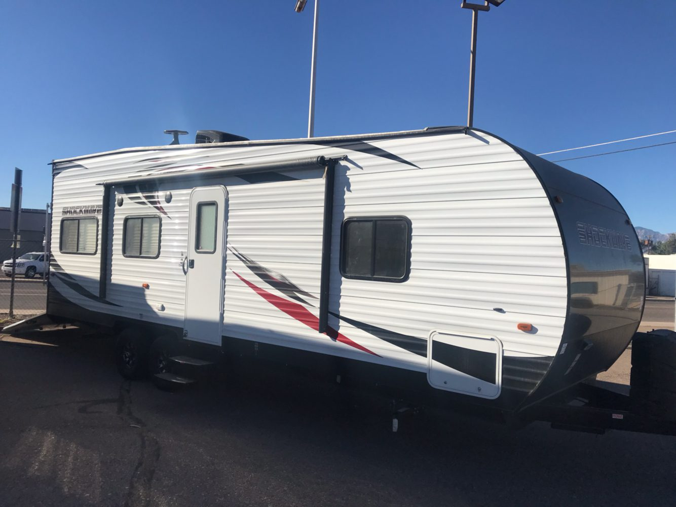 2019 FOREST RIVER Shockwave Toyhauler in Safford, Arizona
