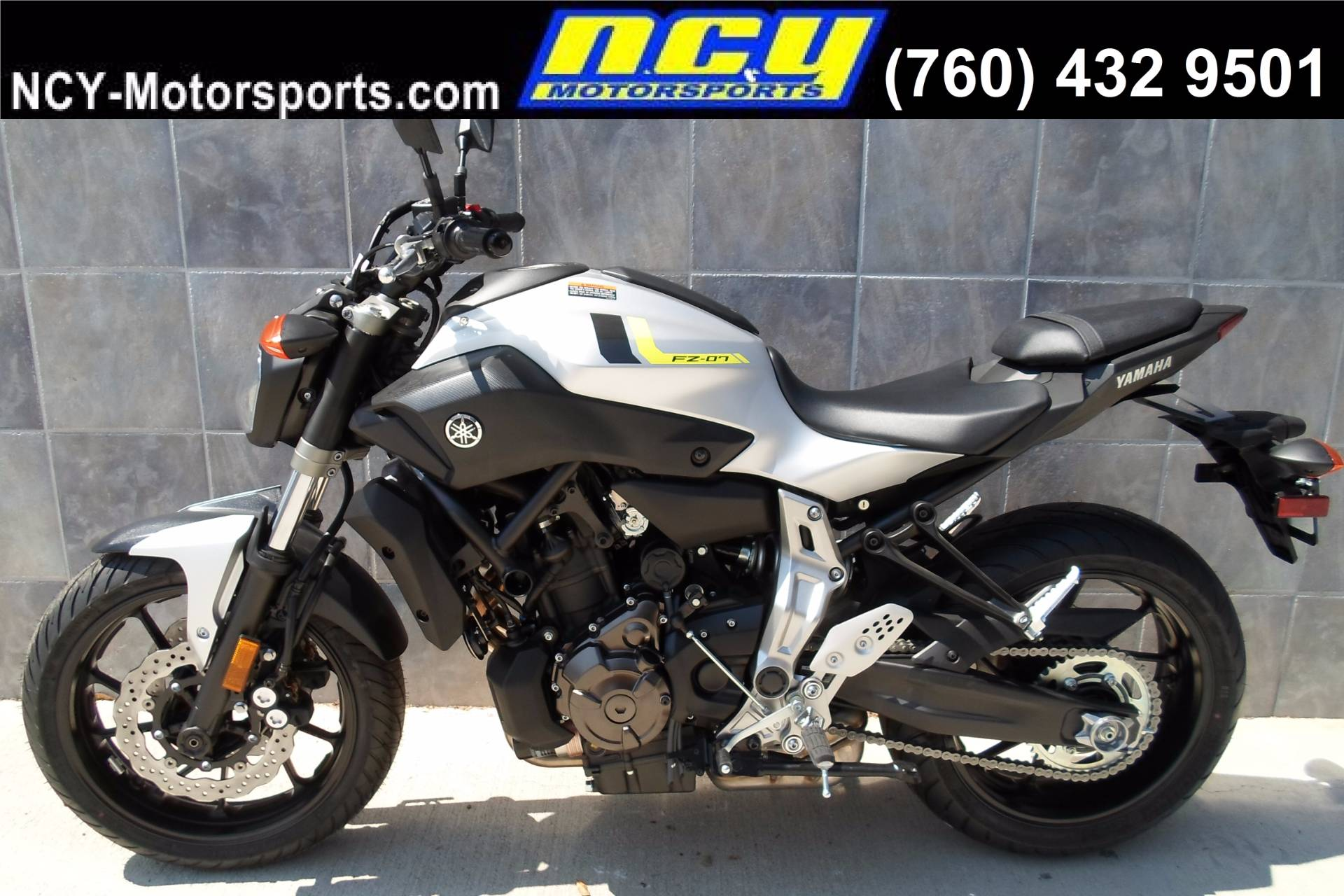 2017 Yamaha FZ-07 in San Marcos, California
