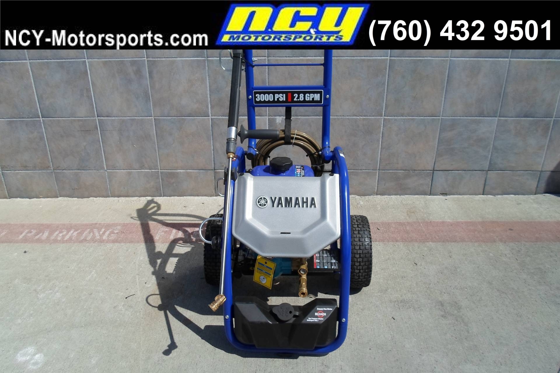 2018 Yamaha PW3028 Pressure Washer in San Marcos, California