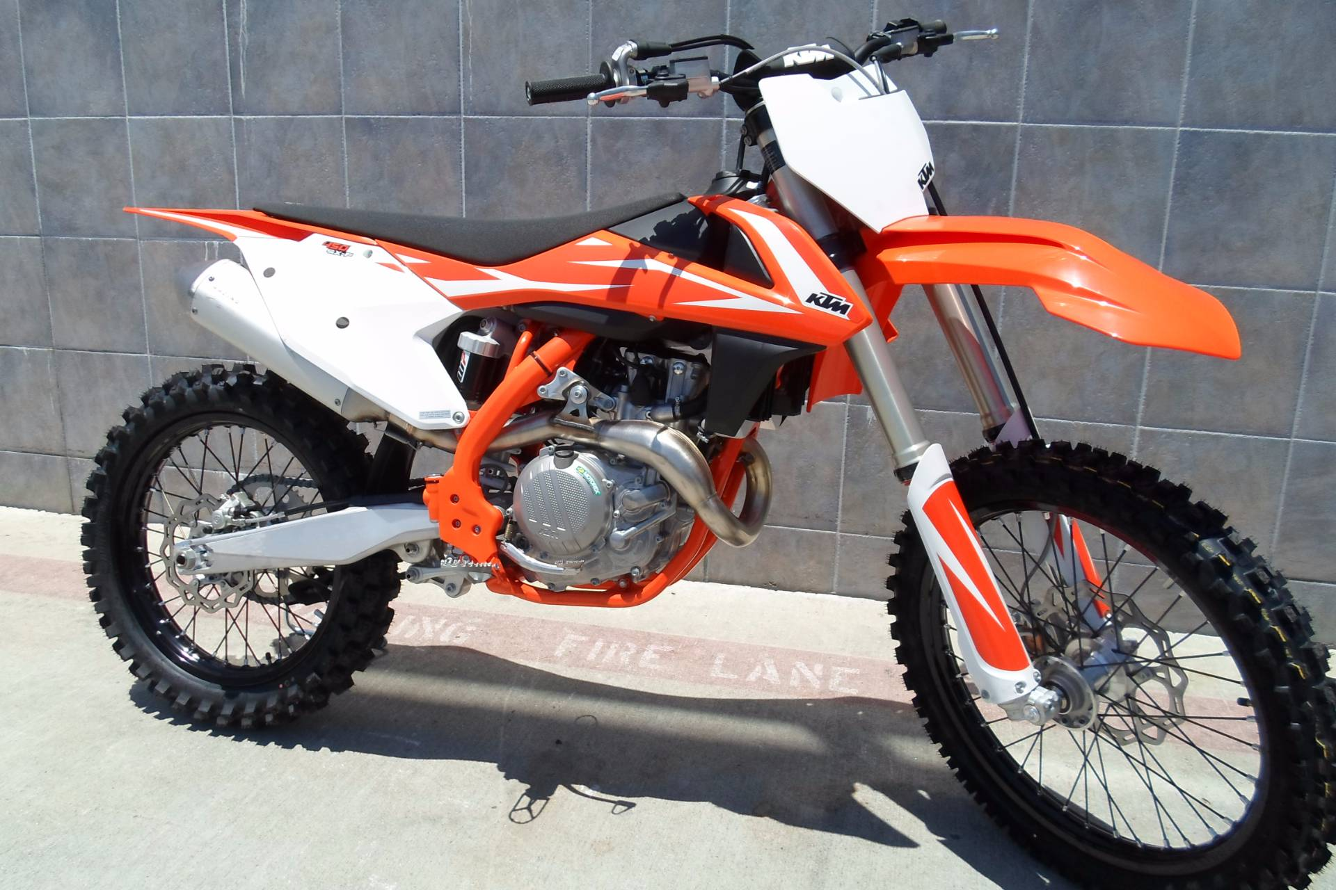 New 2018 KTM 450 SX-F Motorcycles in San Marcos, CA