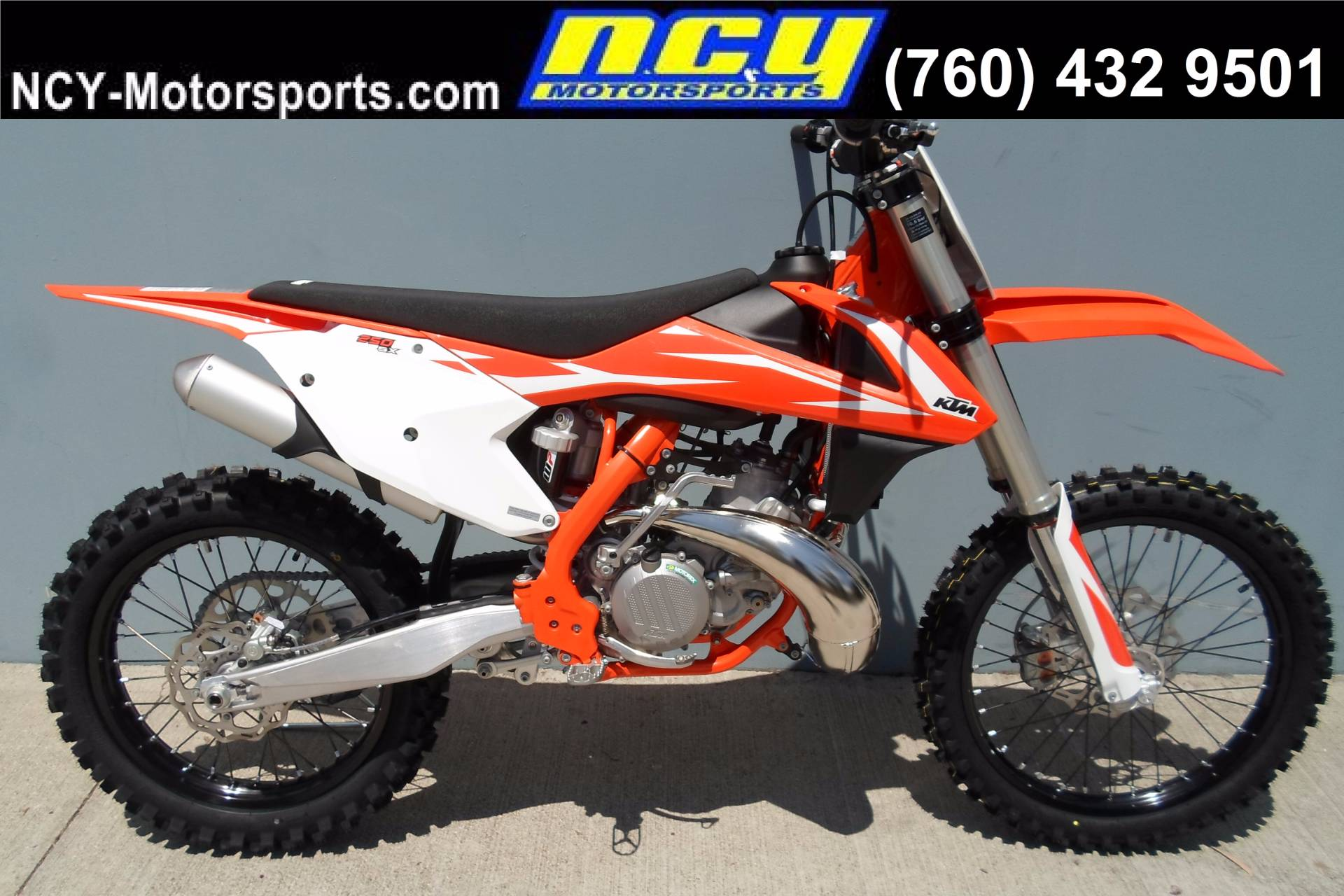 New 2018 KTM 250 SX Motorcycles in San Marcos, CA