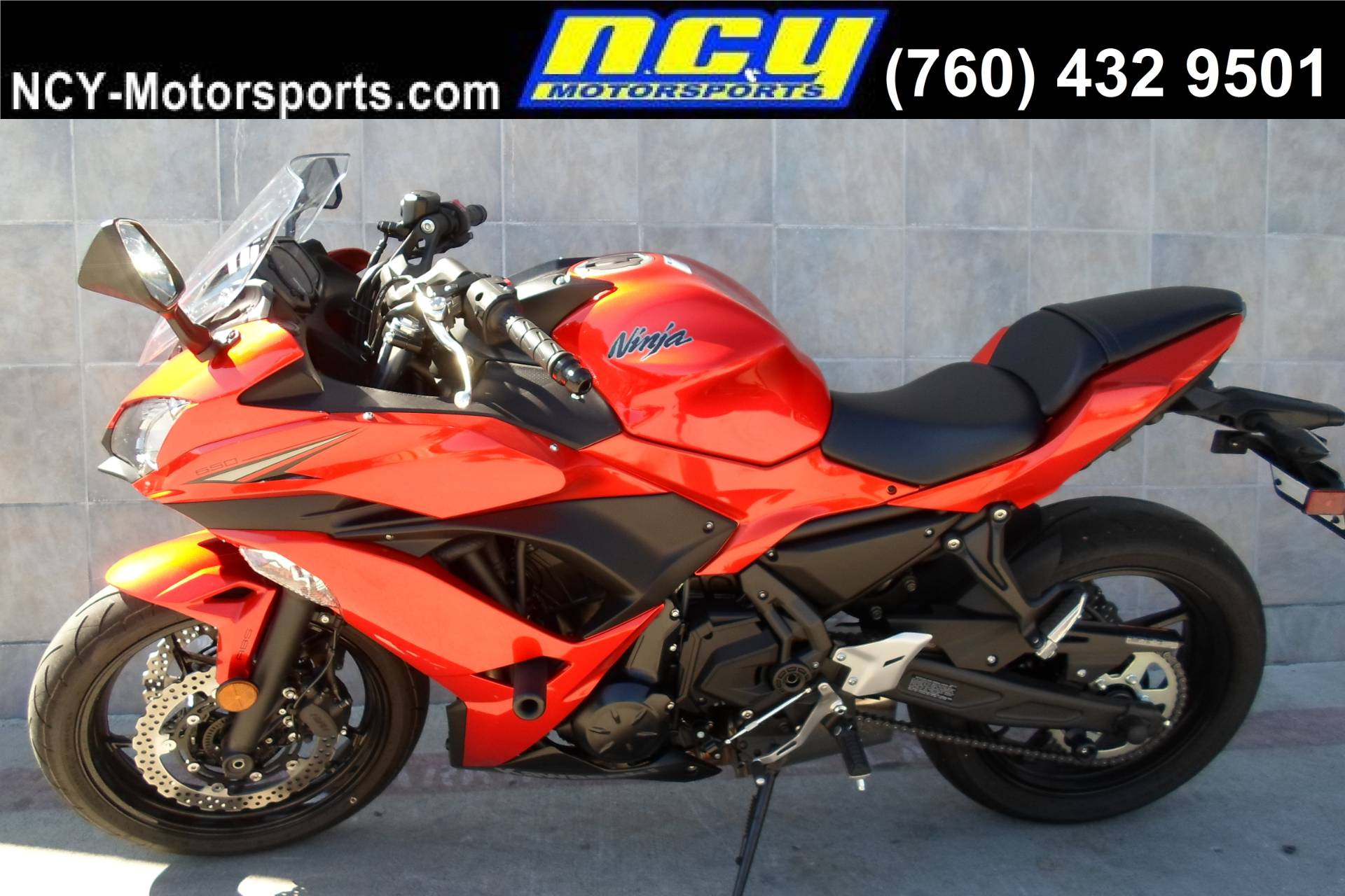 2017 Kawasaki Ninja 650 ABS in San Marcos, California