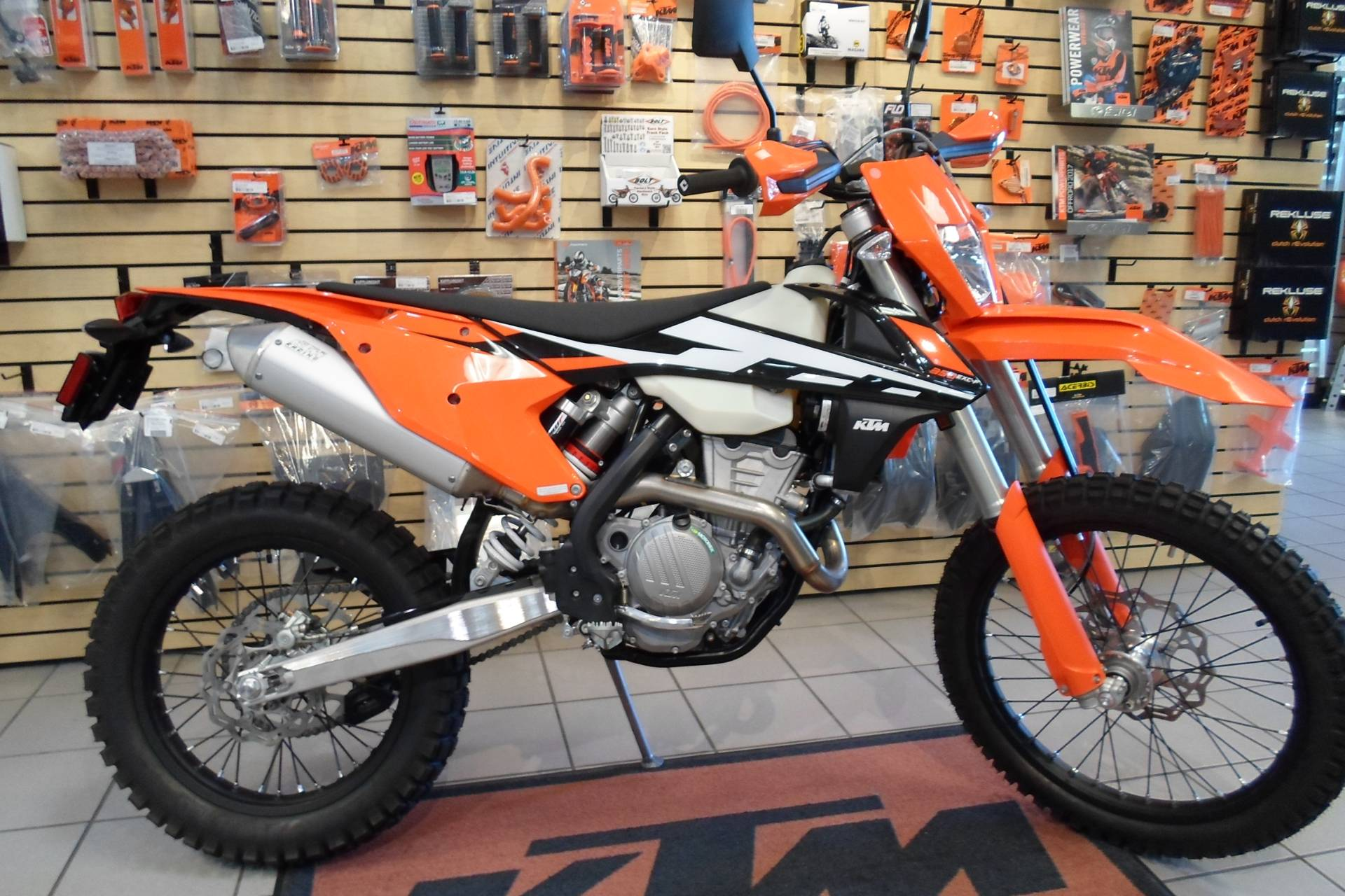 new 2017 ktm 350 exc-f motorcycles in san marcos, ca