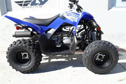 2019 Yamaha Raptor 90 in San Marcos, California - Photo 2