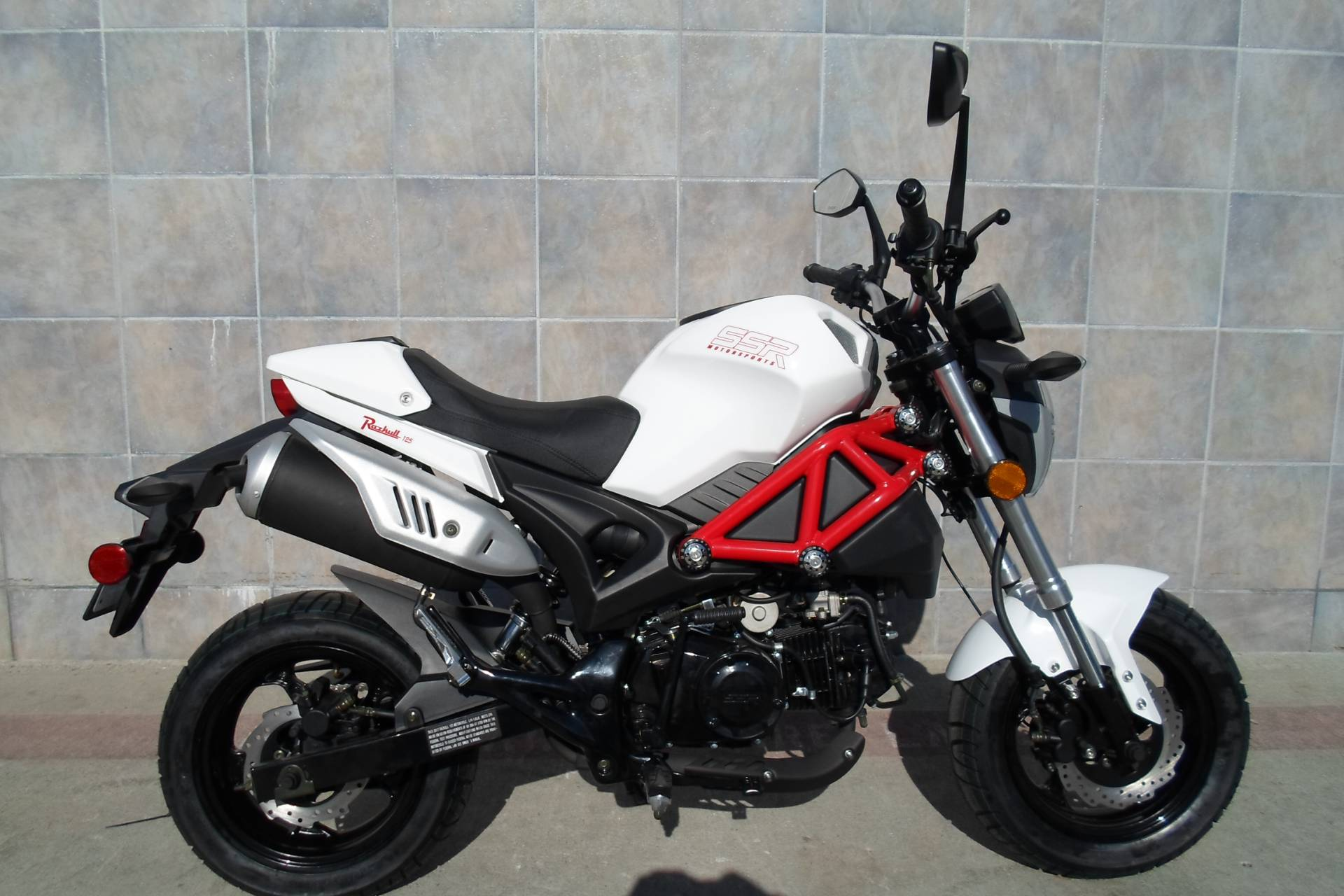 New Motorcycles For Sale San Marcos Ca >> New 2018 SSR Motorsports Razkull 125 Motorcycles in San Marcos, CA