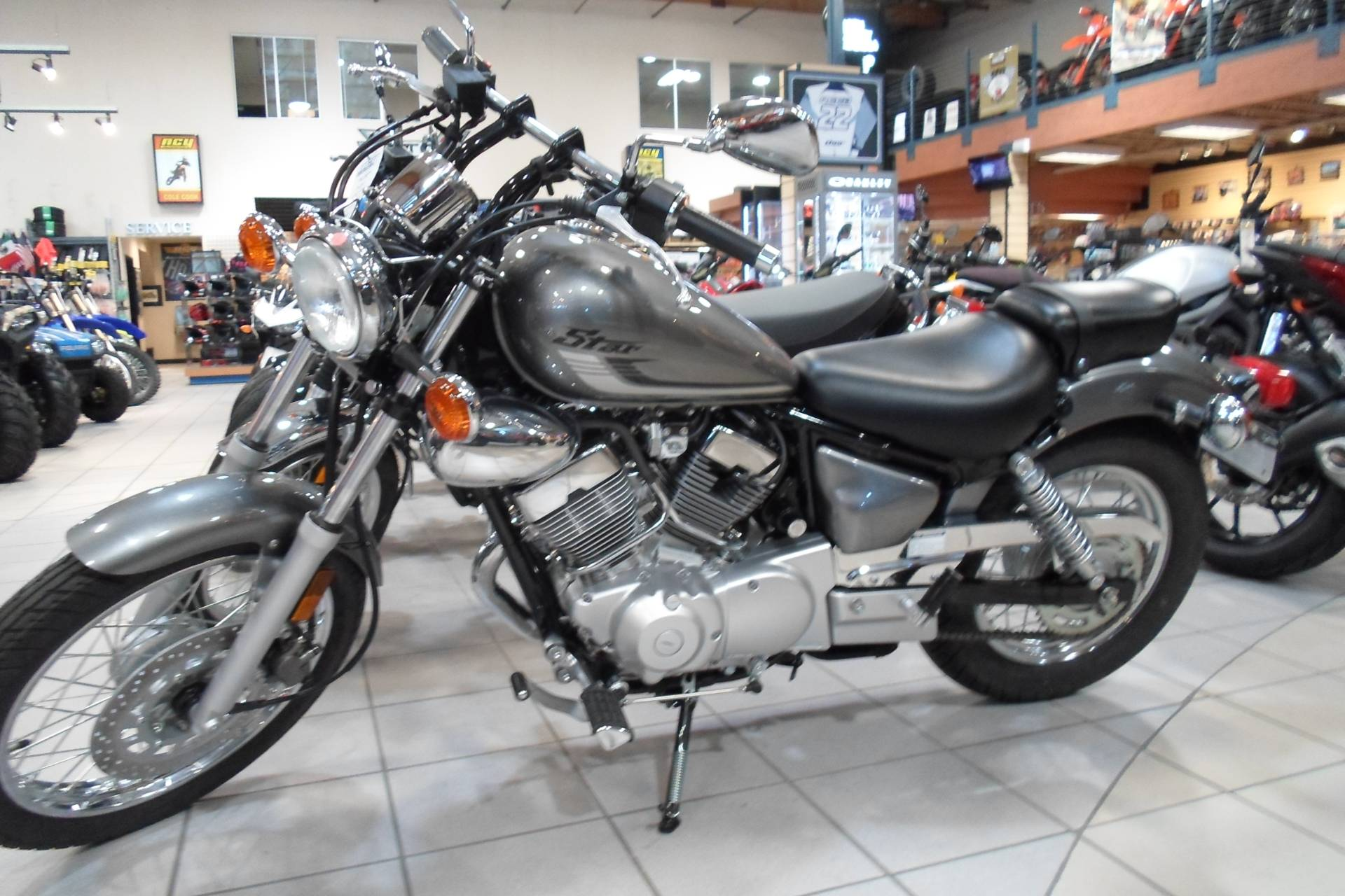New 2017 Yamaha V Star 250 Motorcycles In San Marcos Ca