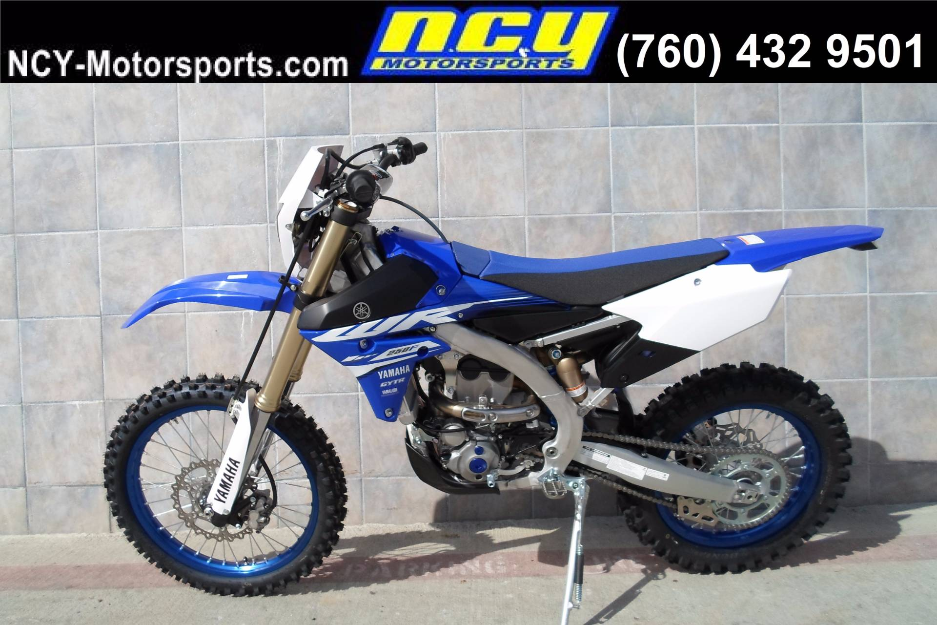 New 2018 Yamaha WR250F Motorcycles in San Marcos, CA