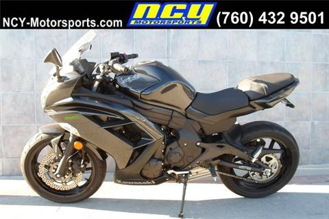 2016 Kawasaki Ninja 650 ABS in San Marcos, California