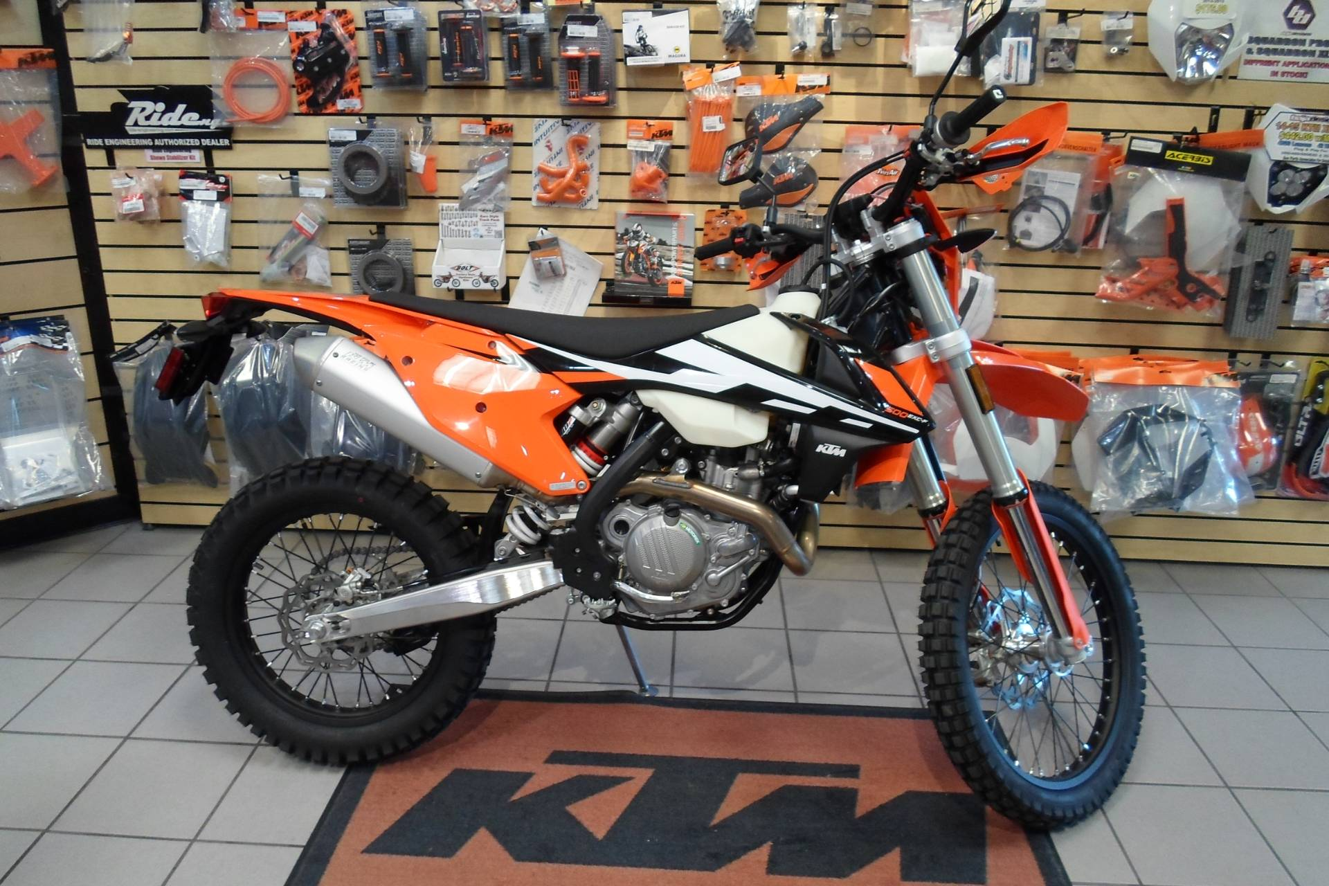 new 2017 ktm 500 exc-f motorcycles in san marcos, ca