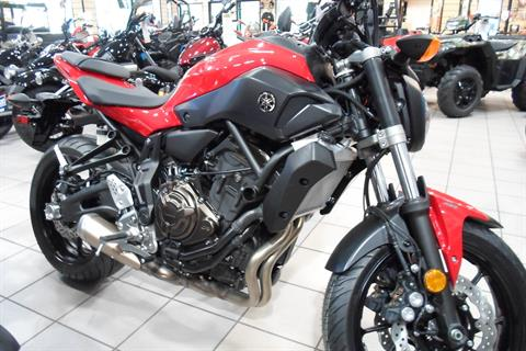 2017 Yamaha FZ-07 ABS in San Marcos, California