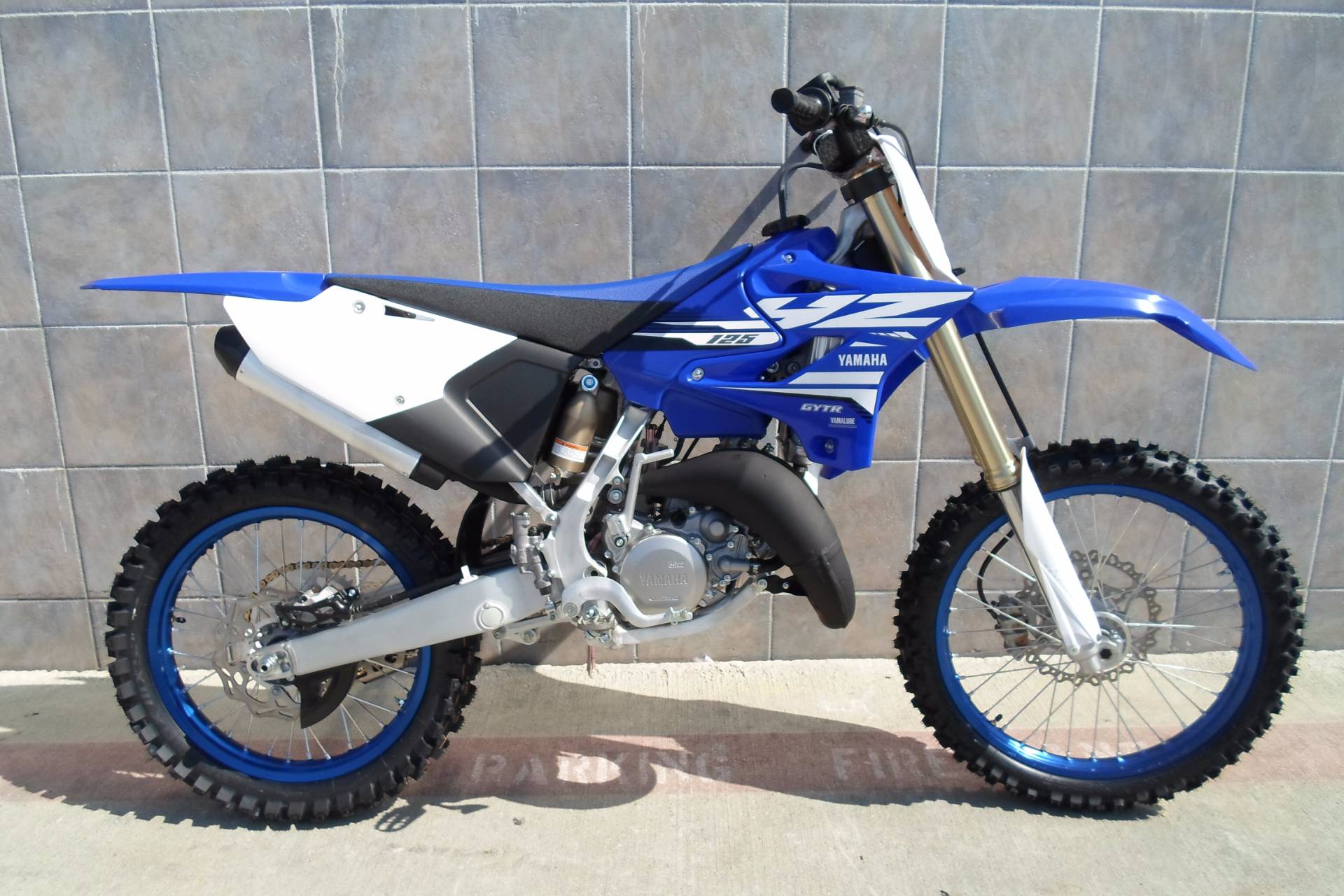 new 2018 yamaha yz125 motorcycles in san marcos ca. Black Bedroom Furniture Sets. Home Design Ideas
