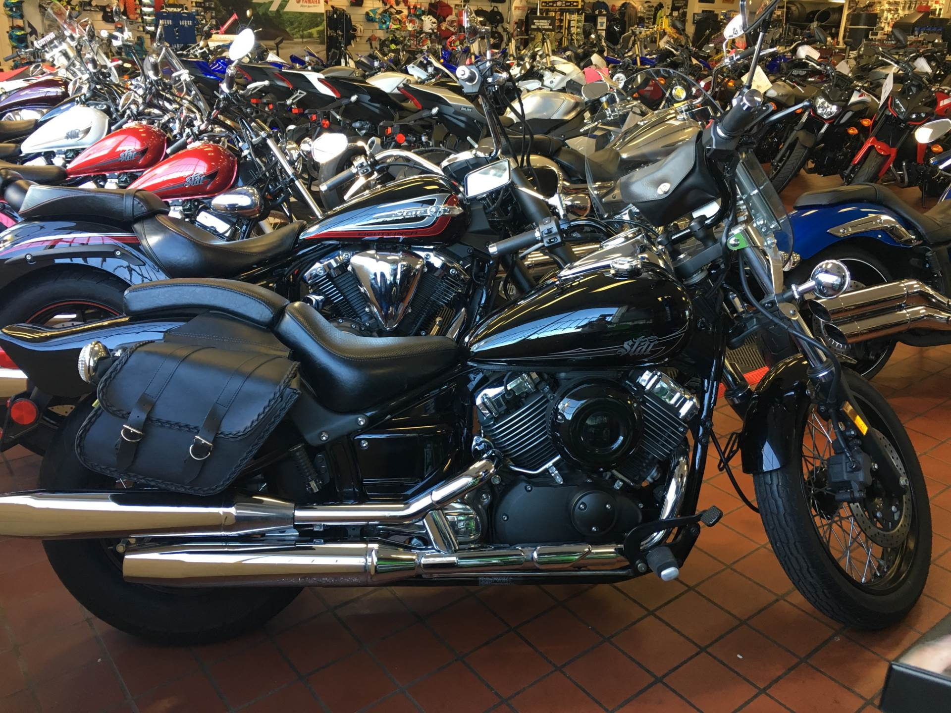 2015 Yamaha V Star 650 Custom in Tulsa, Oklahoma