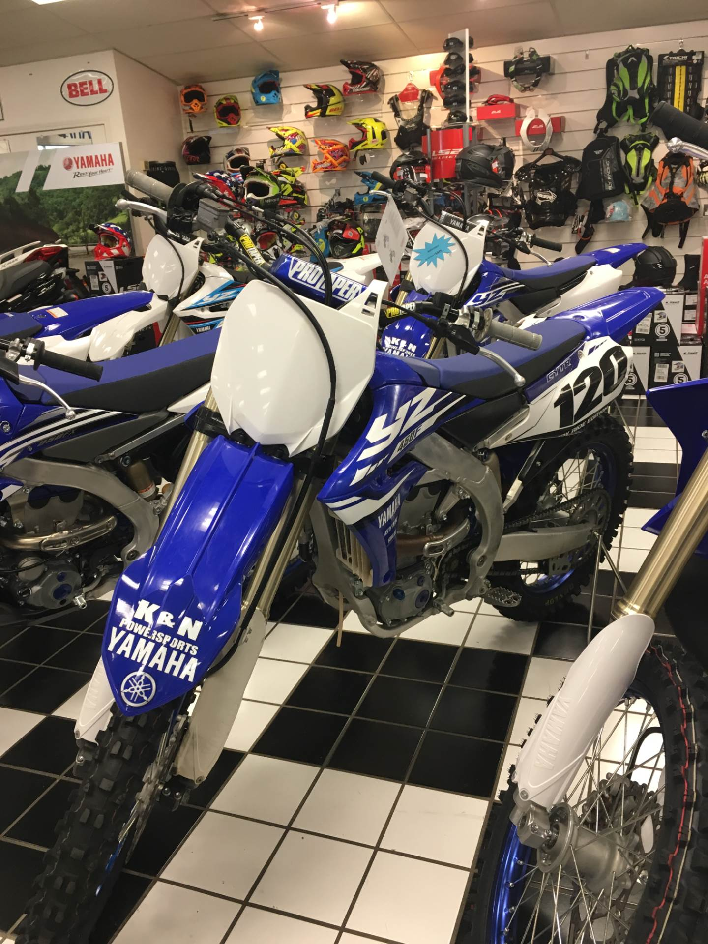 2018 Yamaha YZ450F in Tulsa, Oklahoma - Photo 2