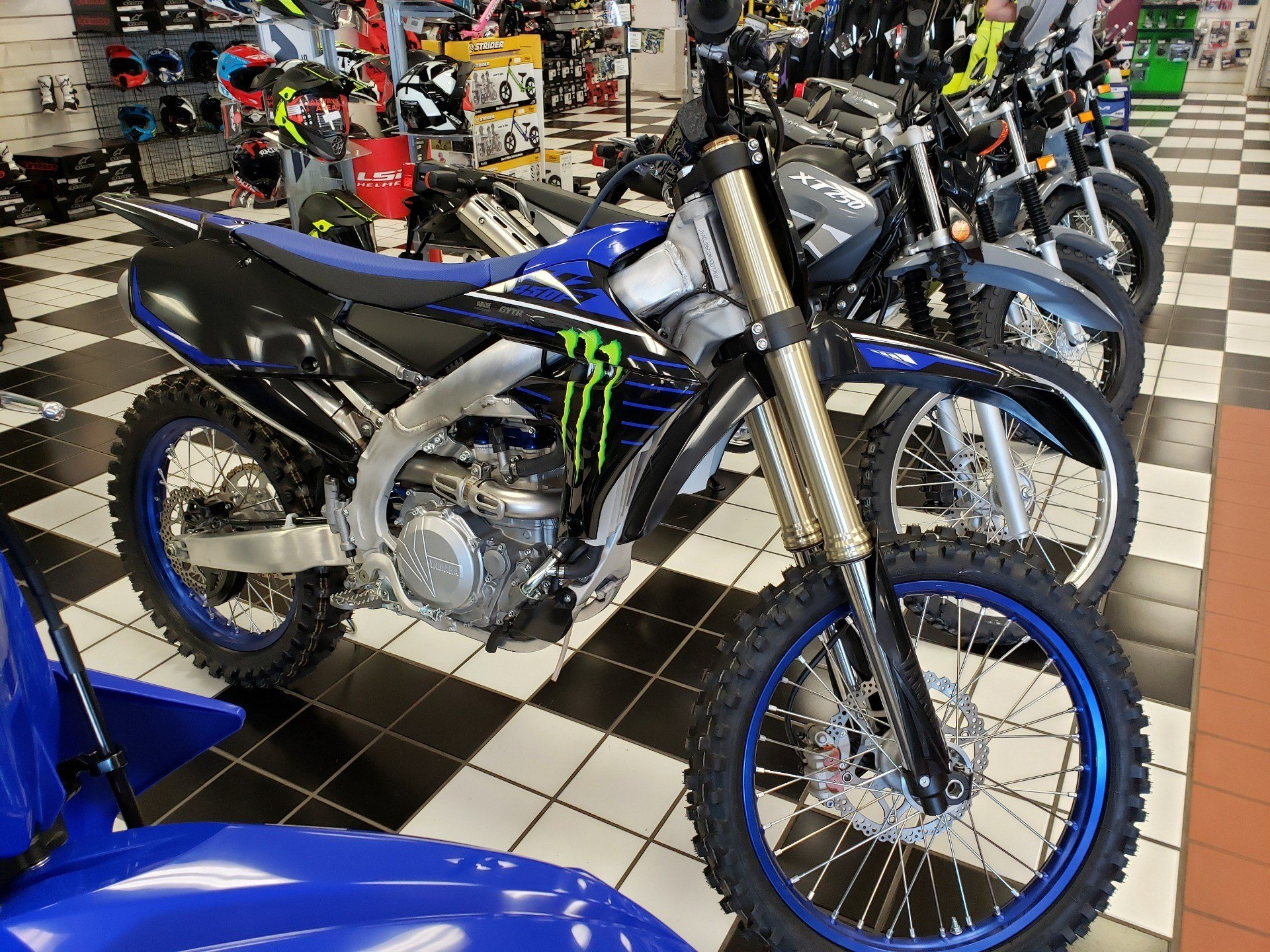 2021 Yamaha YZ450F Monster Energy Yamaha Racing Edition in Tulsa, Oklahoma - Photo 1