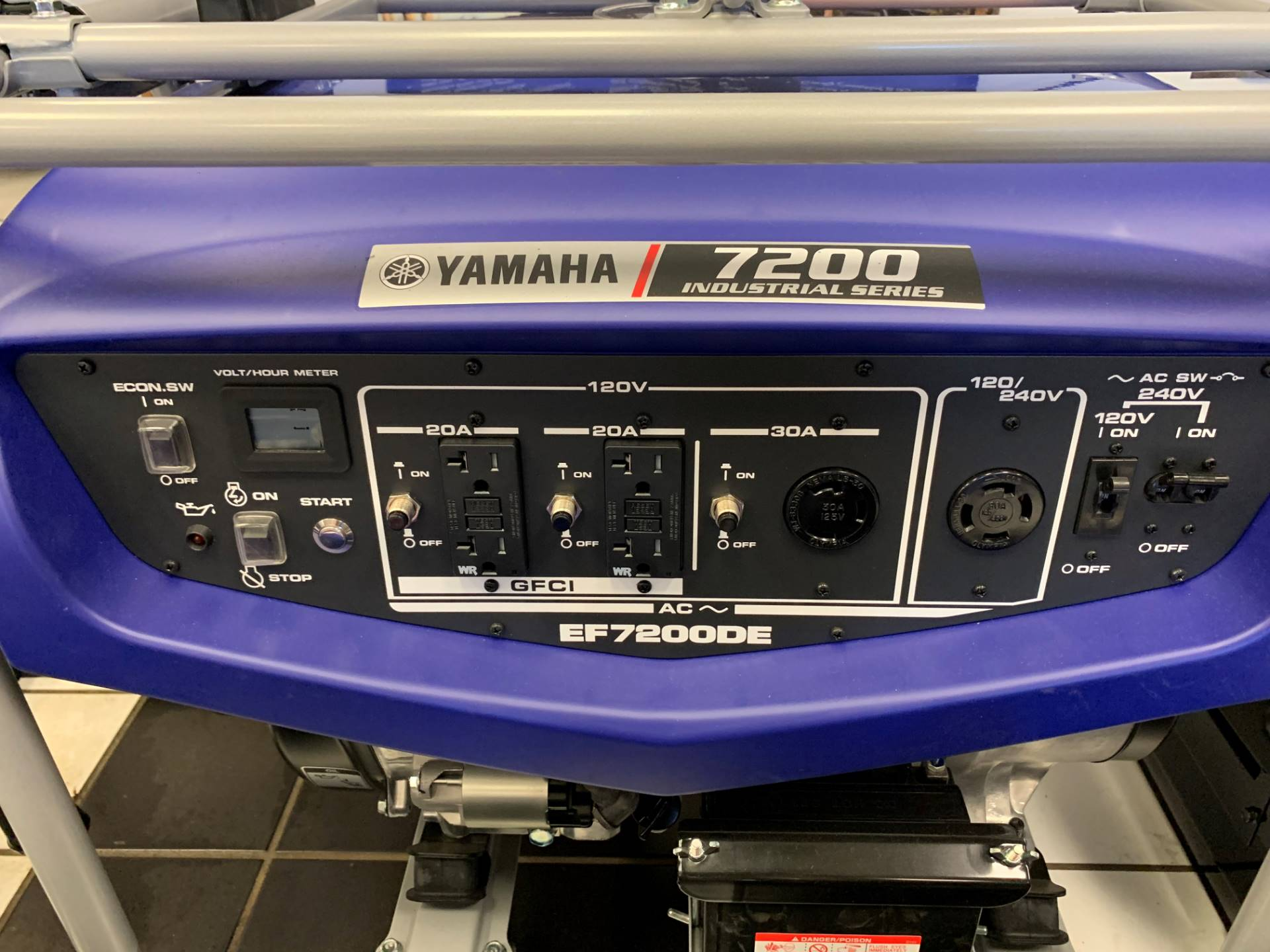 Yamaha EF7200DE Generator in Tulsa, Oklahoma - Photo 1