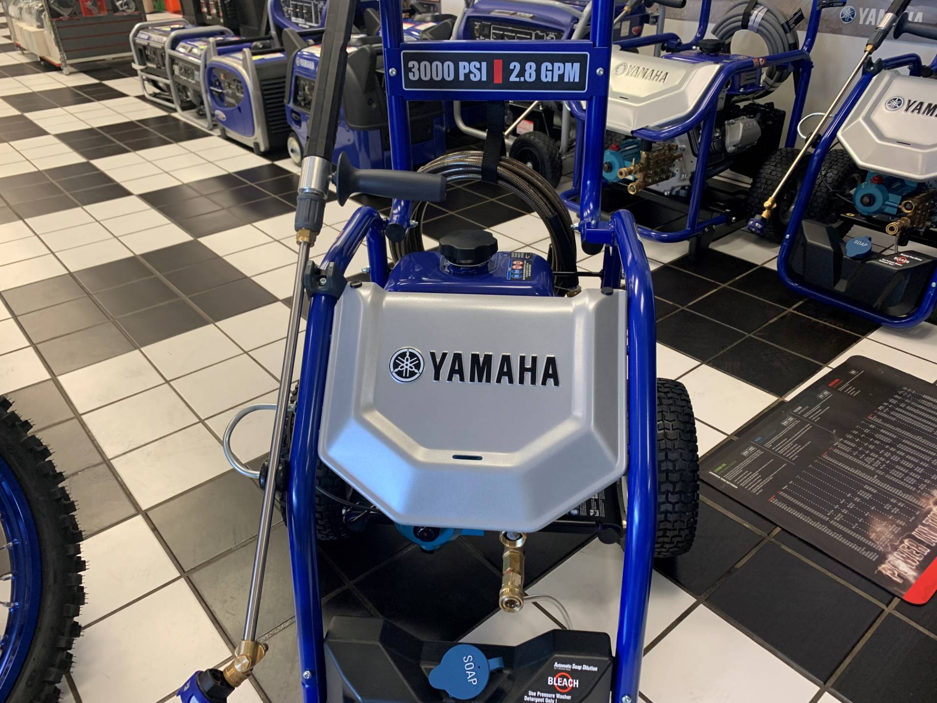 2019 Yamaha PW3028 Pressure Washer in Tulsa, Oklahoma - Photo 2