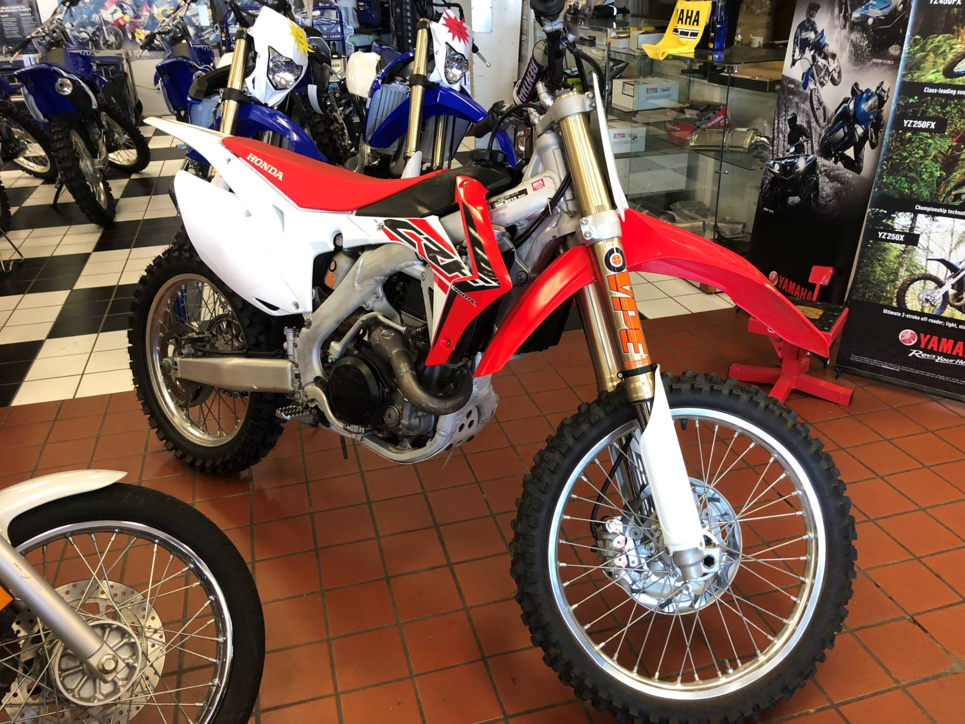 2015 Honda CRF450R in Tulsa, Oklahoma - Photo 3
