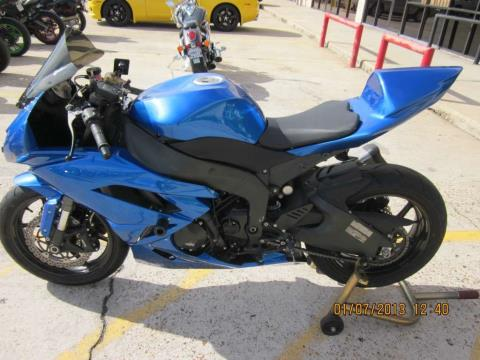 2009 Kawasaki Ninja® ZX™-6R in Houston, Texas