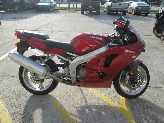 2007 Kawasaki ZZR®600 in Houston, Texas - Photo 2