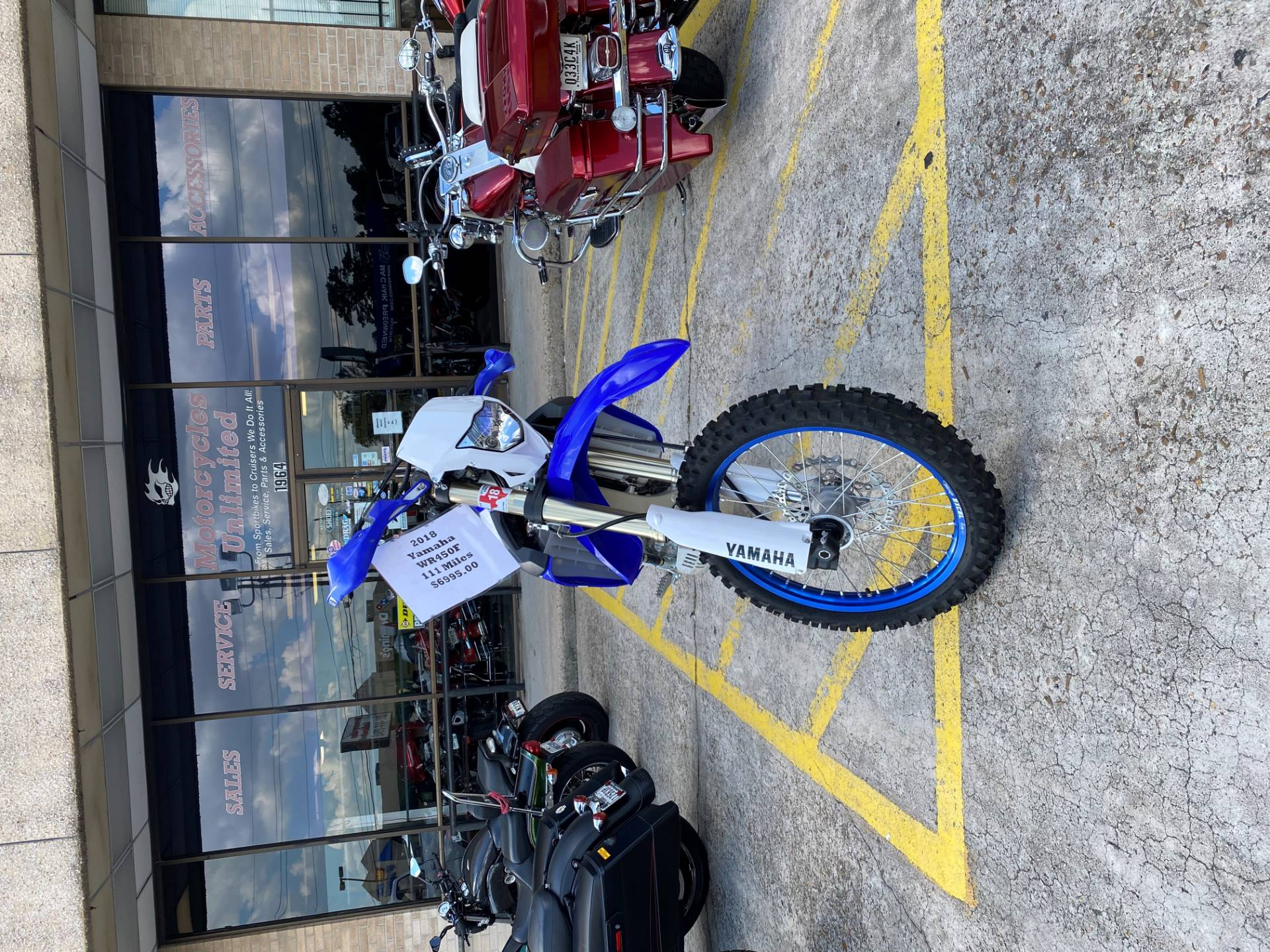 2018 Yamaha WR450F in Houston, Texas - Photo 4