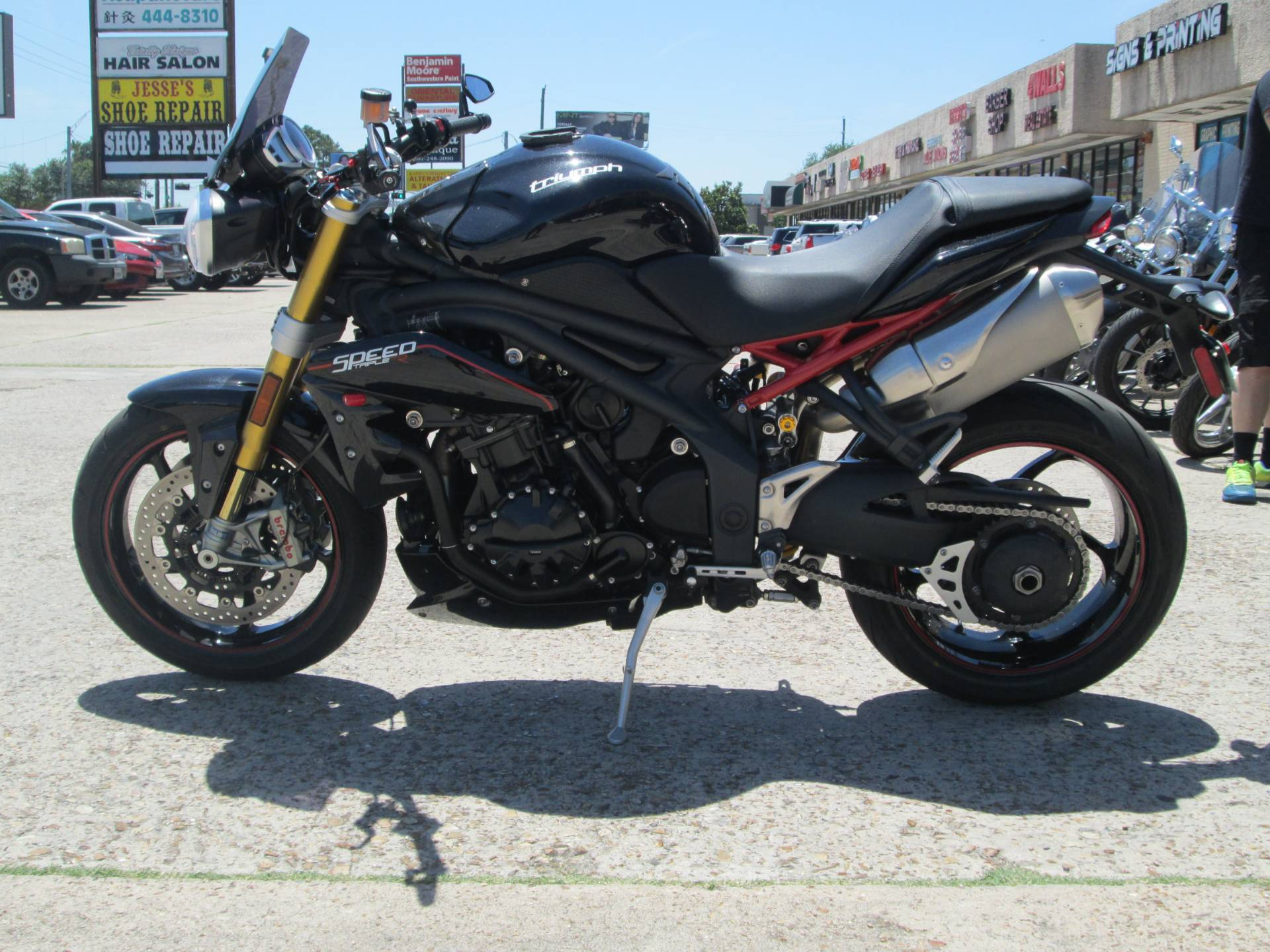 2013 Triumph Speed Triple R ABS in Houston, Texas