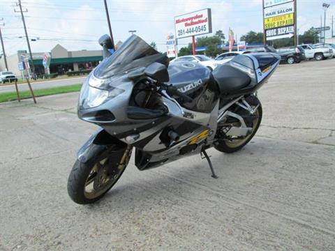 2001 Suzuki GSX-R1000 in Houston, Texas