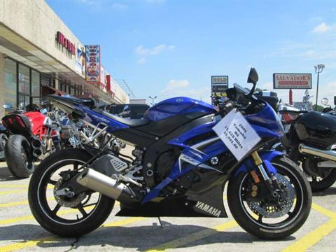 2009 Yamaha YZFR6 in Houston, Texas